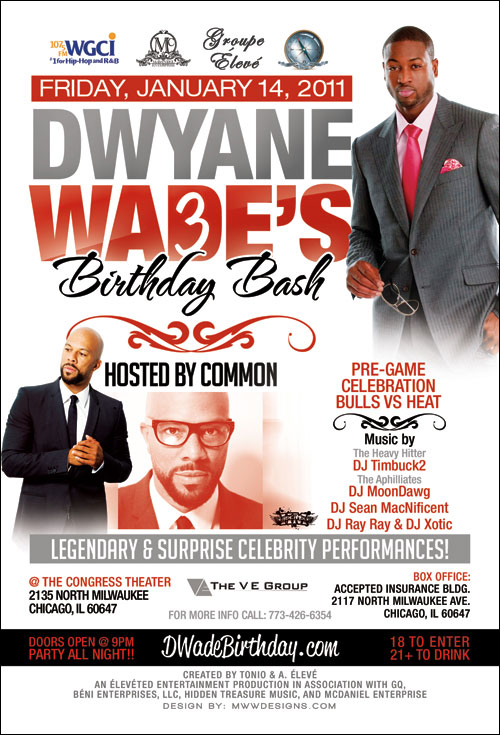 dwyane wade birthday chicago